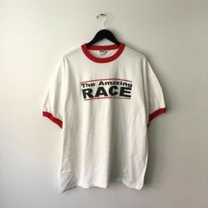2009 The Amazing Race Graphic Shirt Plus Size 2XL